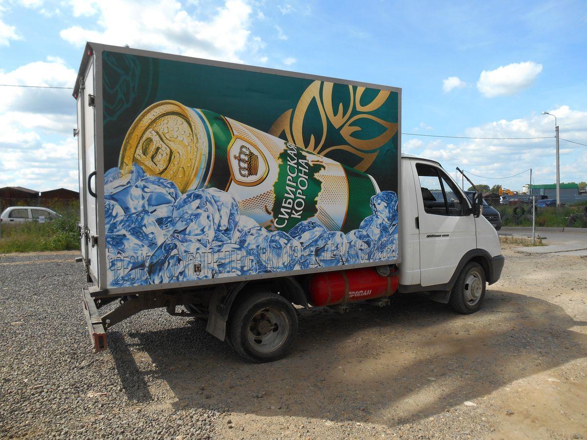 Оклейка фургона рекламой (3)