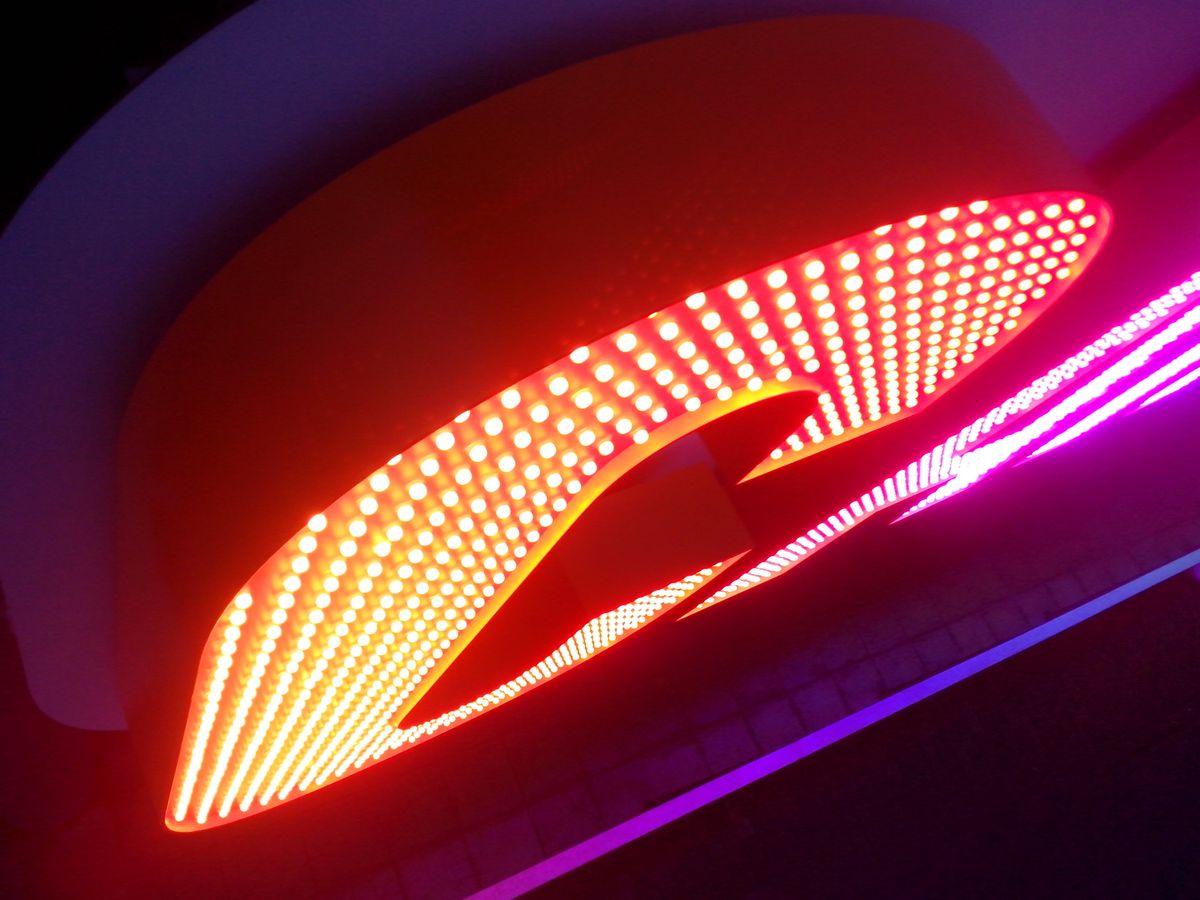 Вывеска с открытыми светодиодами (6)